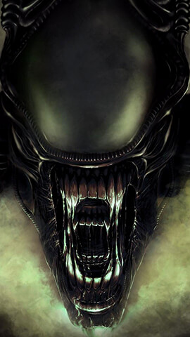 Aliens Concept Wallpaper For Phone ...