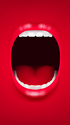 Big Mouth Wallpaper For Phone ...
