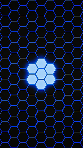 Blue Hexagon