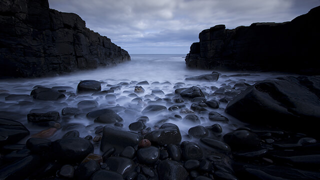 Dark Sea Rocks