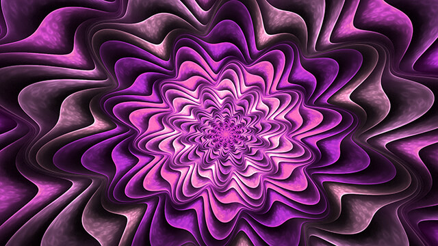 Fractal Purple Desktop Wallpaper ...