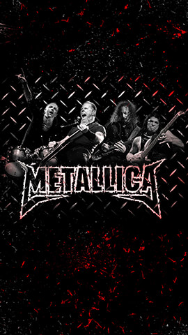 Metallica Rock Band Wallpaper For Phone ...