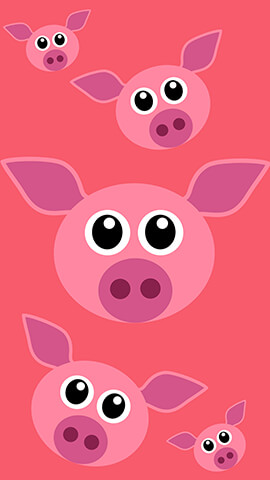 Pink Piggy Wallpaper For Phone ...