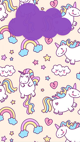 Pink Unicorns Wallpaper For Phone ...