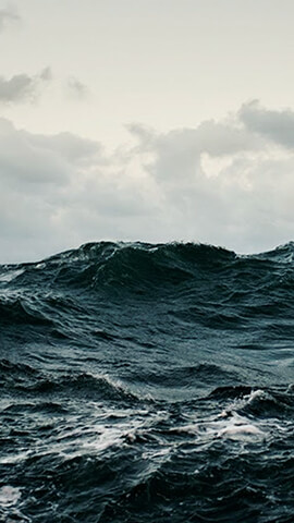 Stormy Sea Wallpaper For Android ...