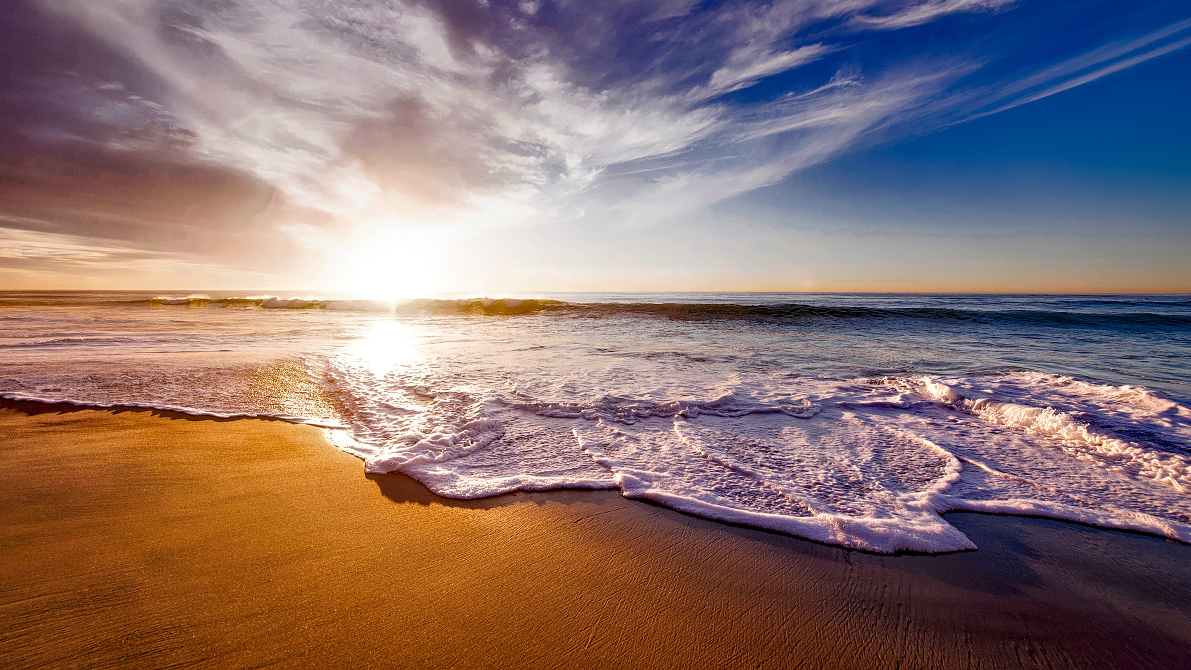 California Beach 4K Wallpaper Download