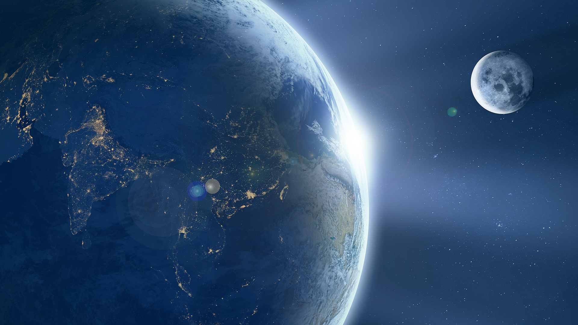 Earth From Space 1920 X 1080 UHD Wallpaper
