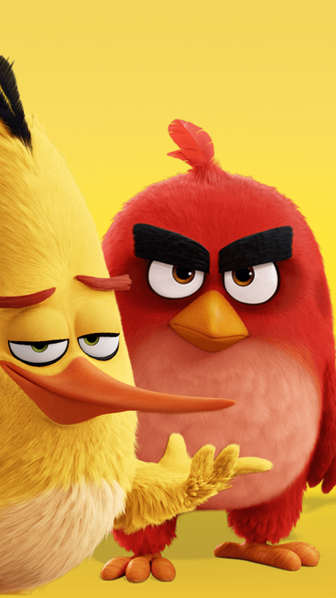 Angry Birds 1080 X 1920 FHD Wallpaper