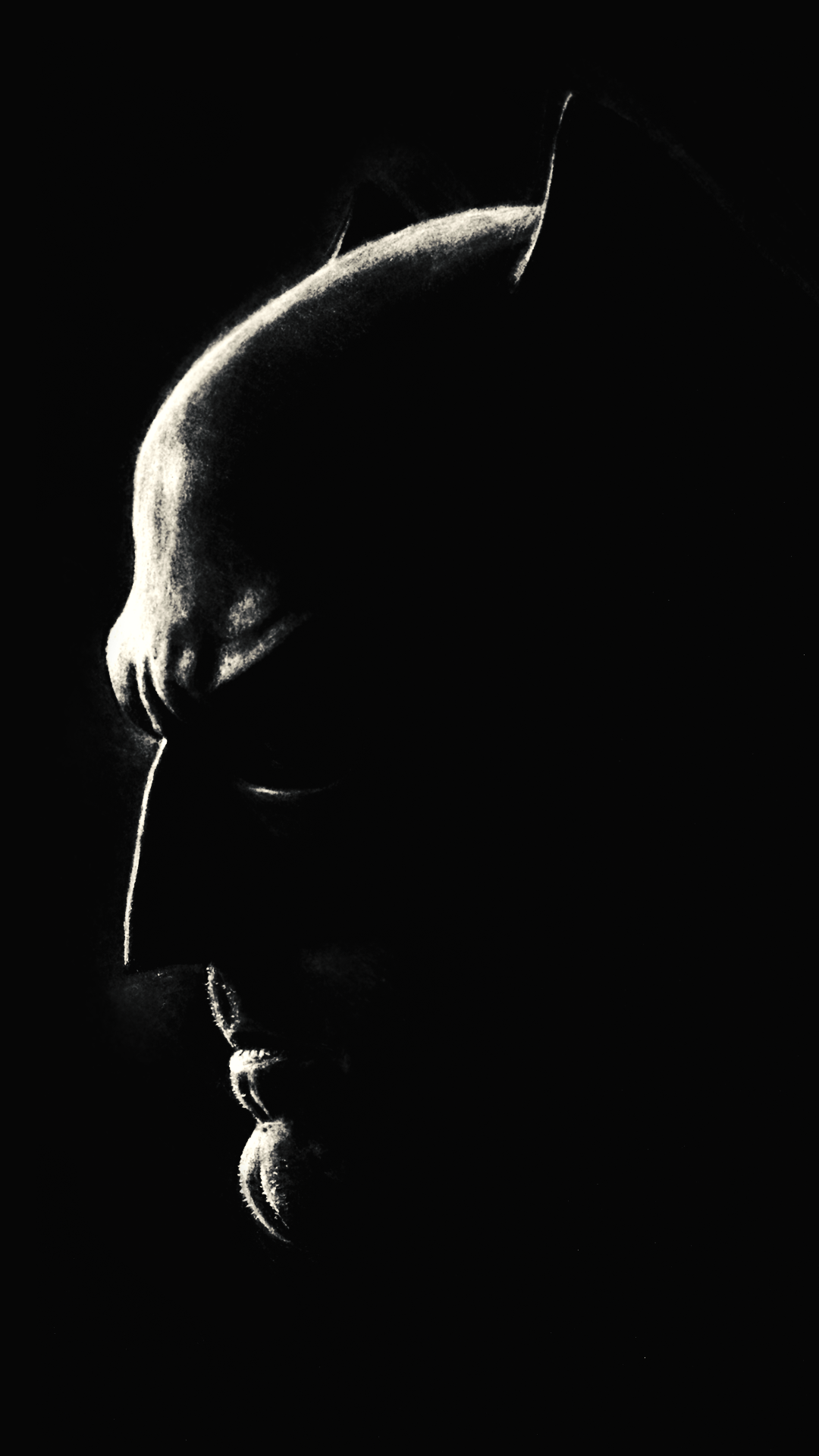 ultra hd batman black wallpaper for your mobile phone 0019