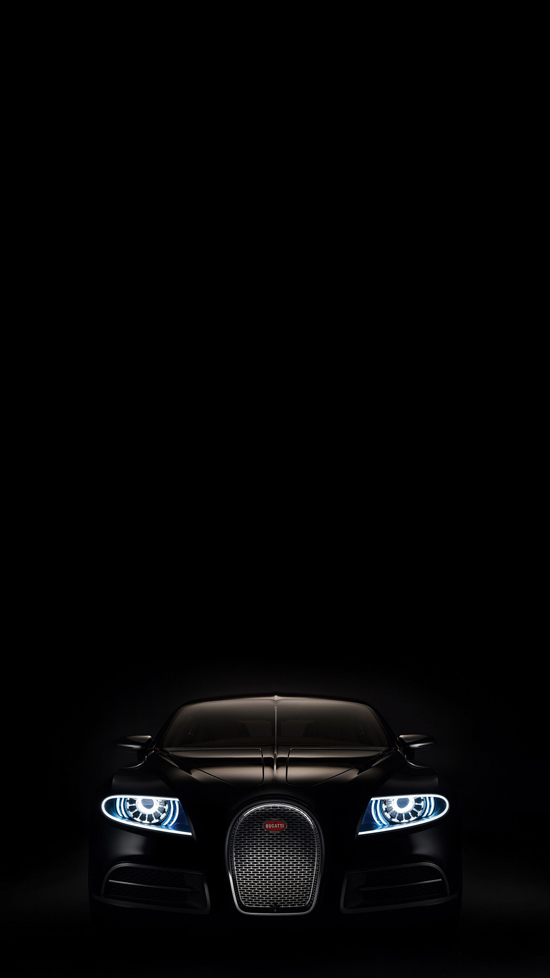 Ultra Hd Black Bugati Wallpaper For Your Mobile Phone 0033