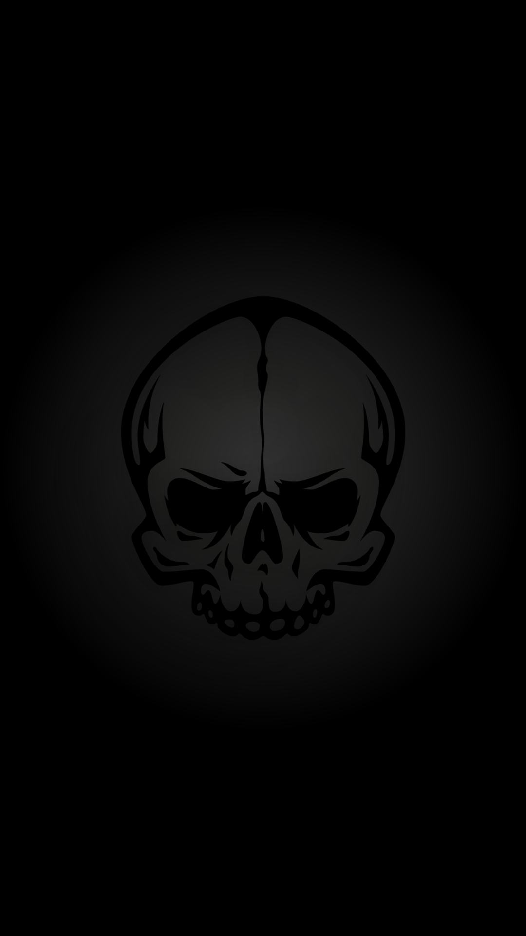 download our hd black skull wallpaper for android phones 0037