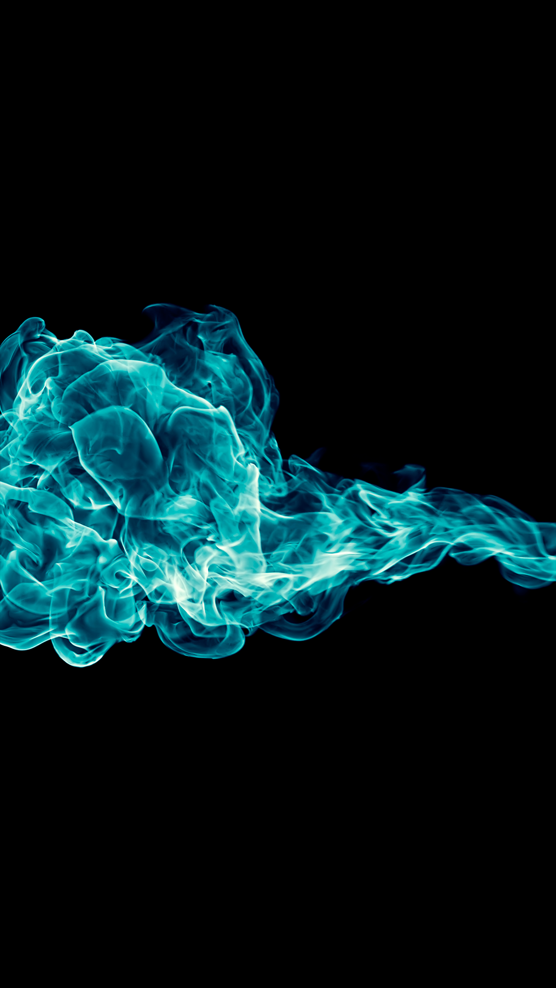 Ultra Hd Blue Fire Wallpaper For Your Mobile Phone 0042