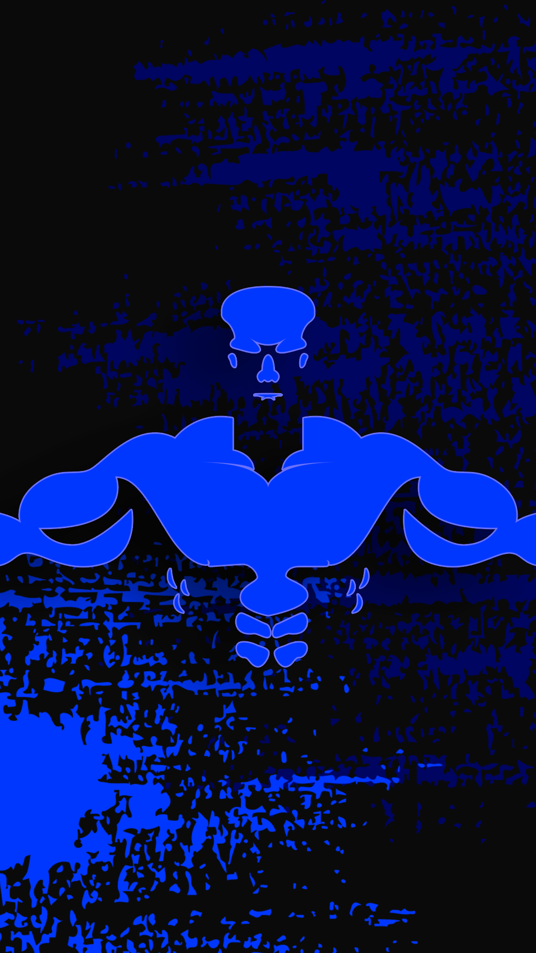 Ultra Hd Bodybuilder Blue Wallpaper For Your Mobile Phone 0049