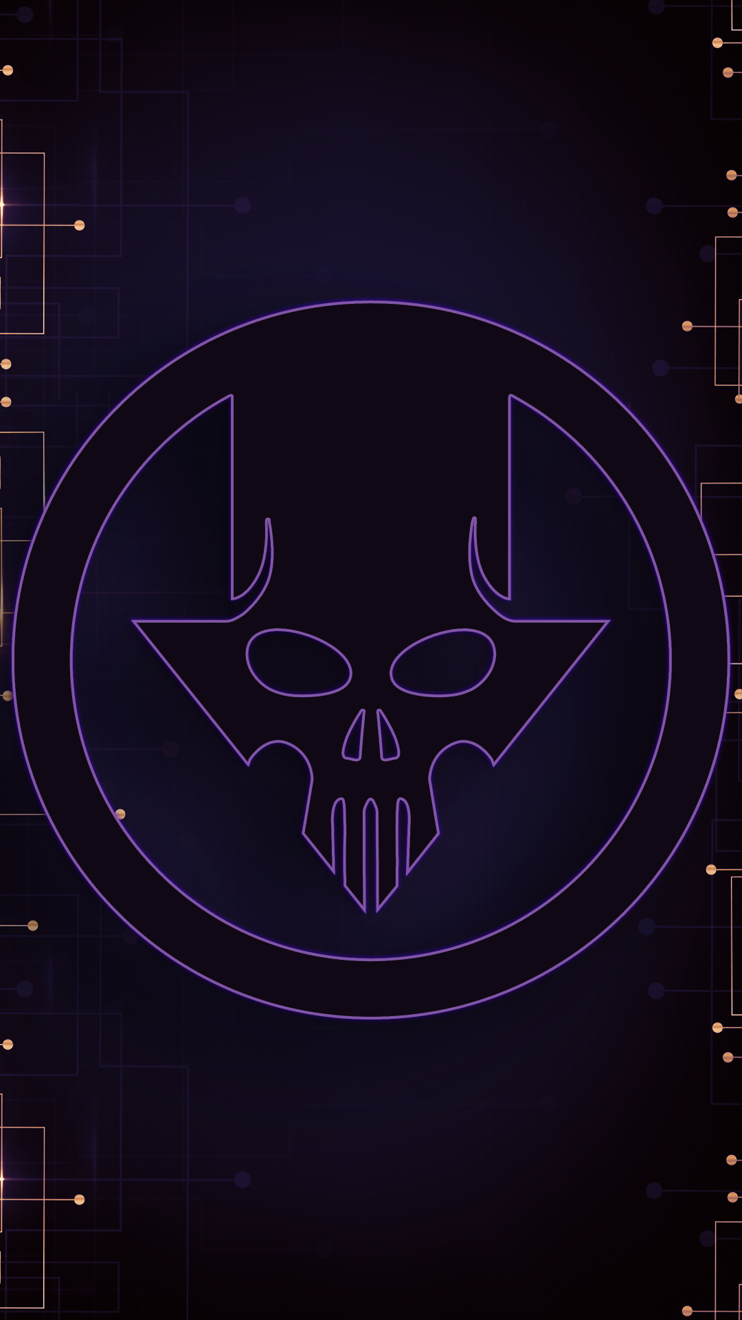 Ultra HD Cyber Skull Wallpaper For Your Mobile Phone    0072