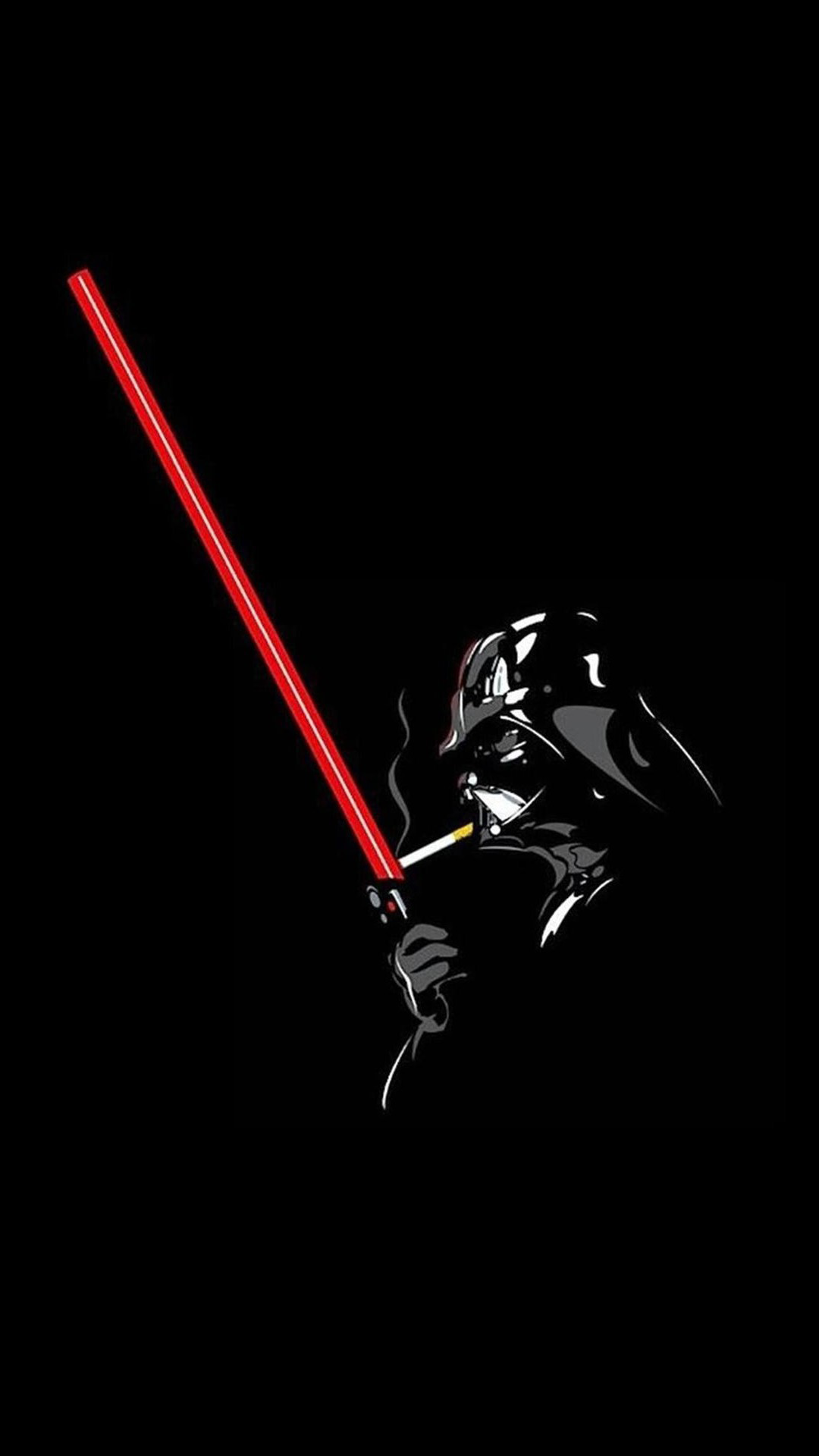 Ultra Hd Darth Vader Smoking Wallpaper For Your Mobile Phone 0085