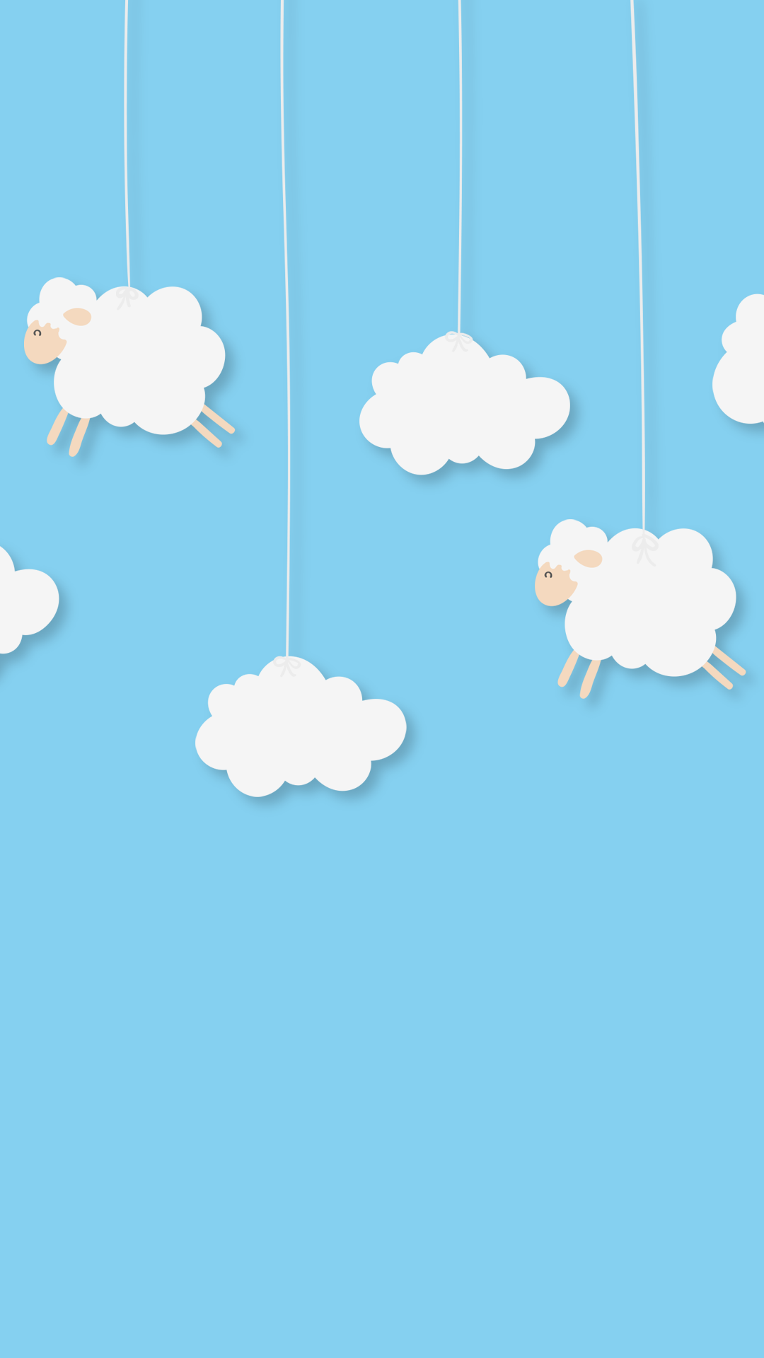 Flying Sheep IPhone Wallpaper