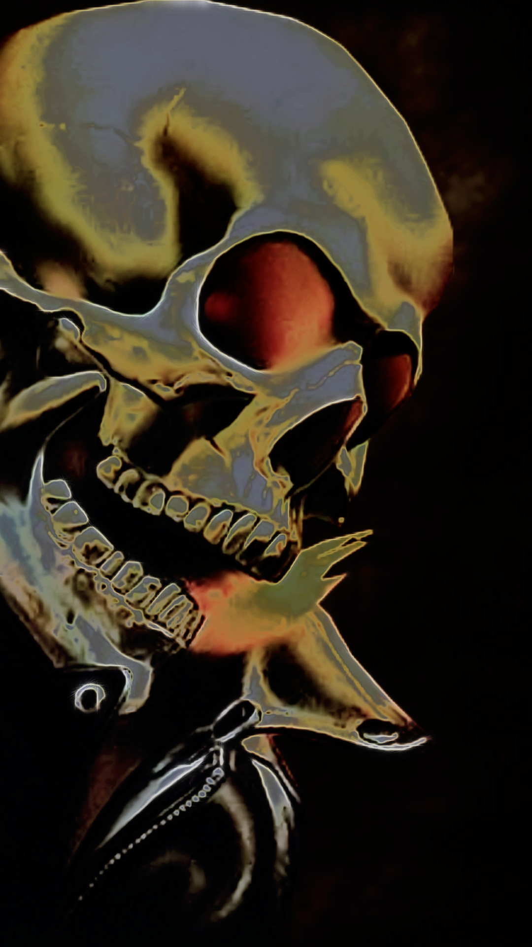 Ghost Rider Art IPhone Wallpaper
