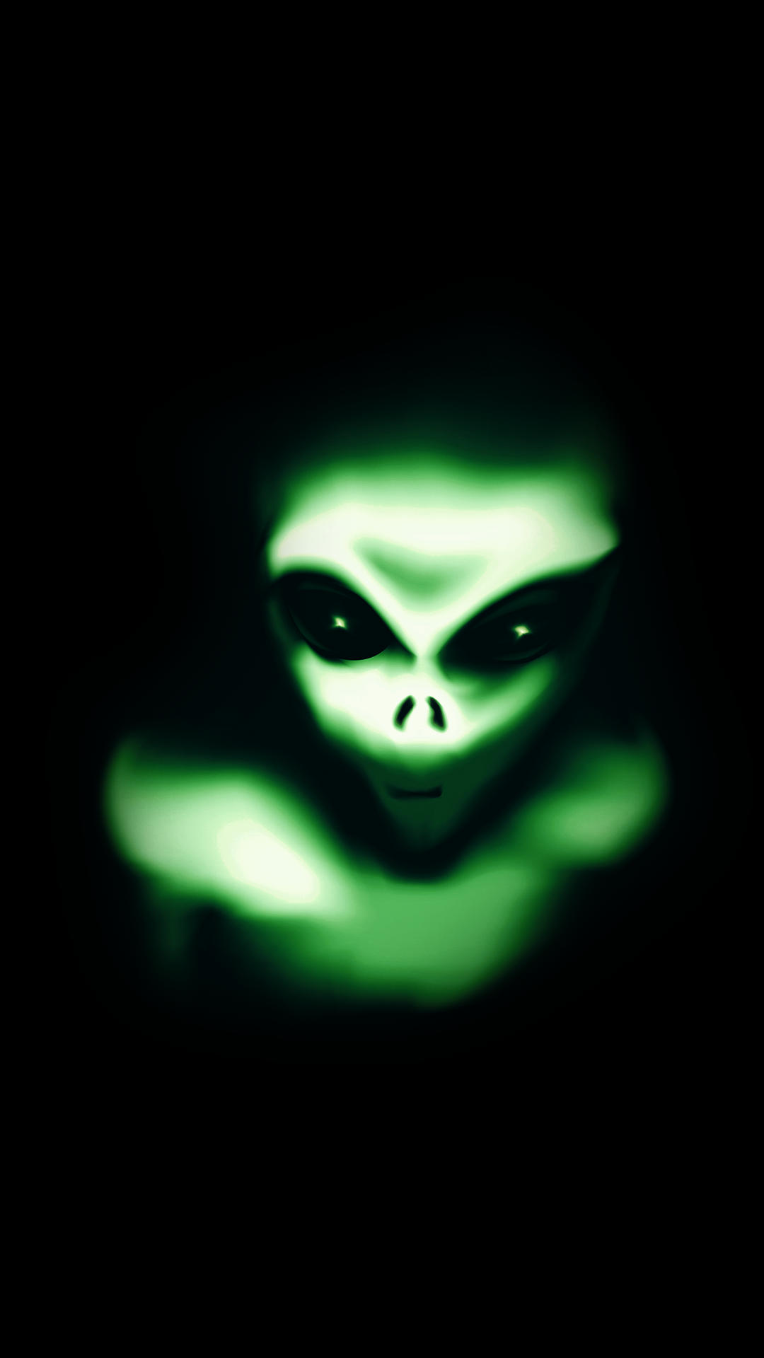 free hd green alien iphone wallpaper for download 0121