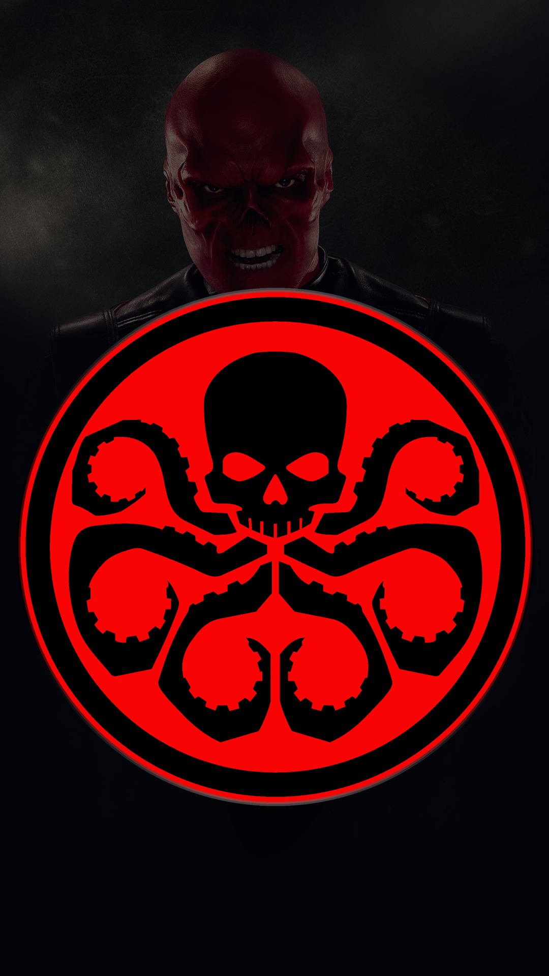 Hydra Skull 1080 X 1920 FHD Wallpaper