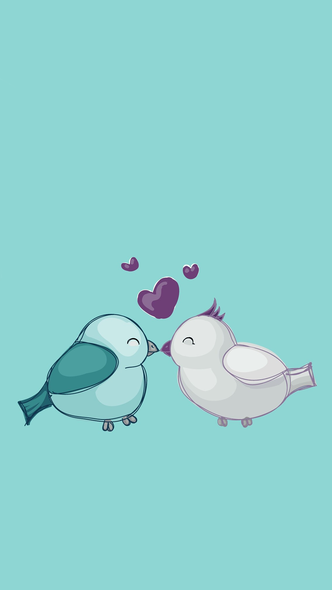 Ultra Hd Love Birds Wallpaper For Your Mobile Phone 0162