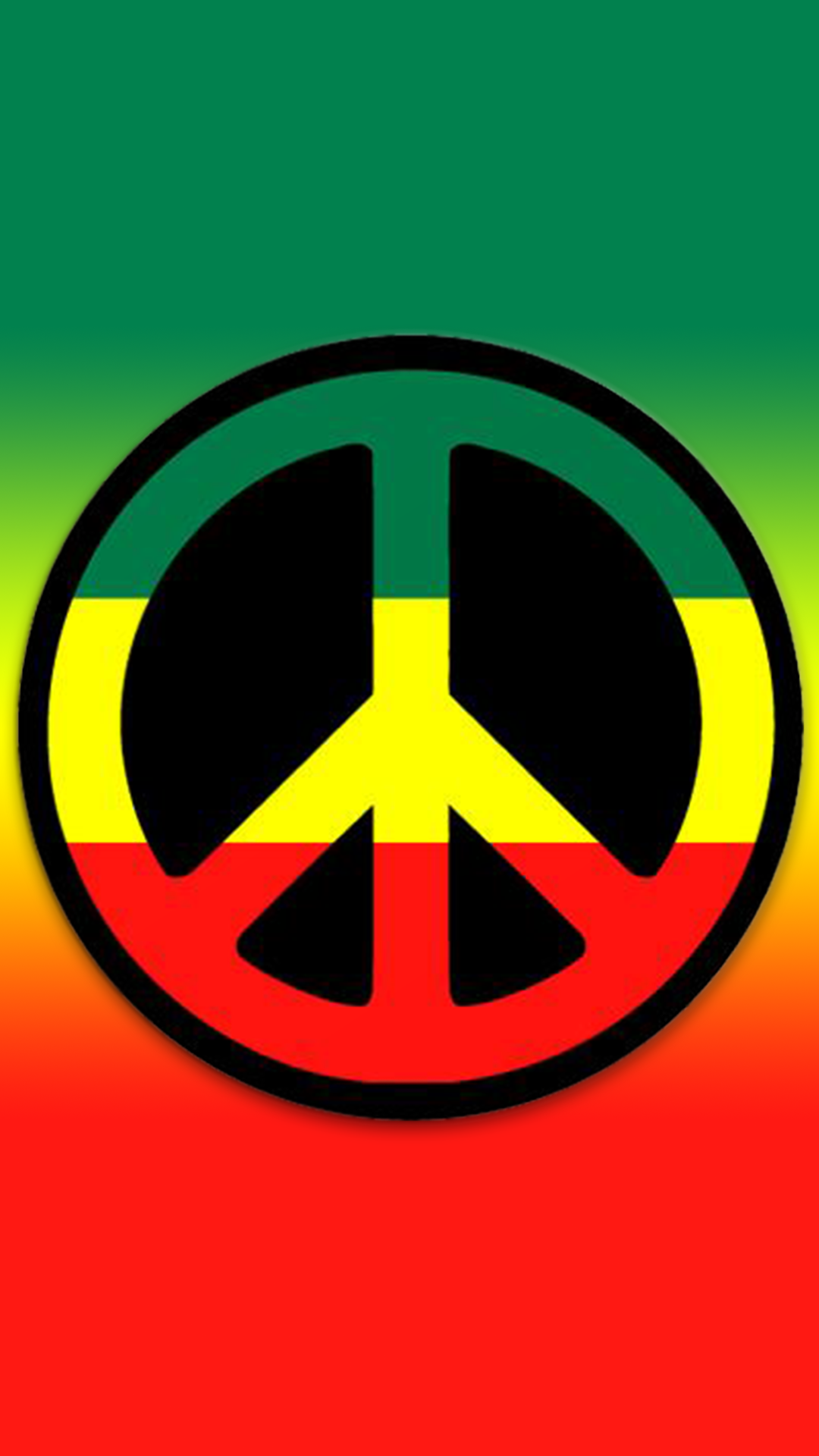 ultra hd love peace wallpaper for your mobile phone 0165