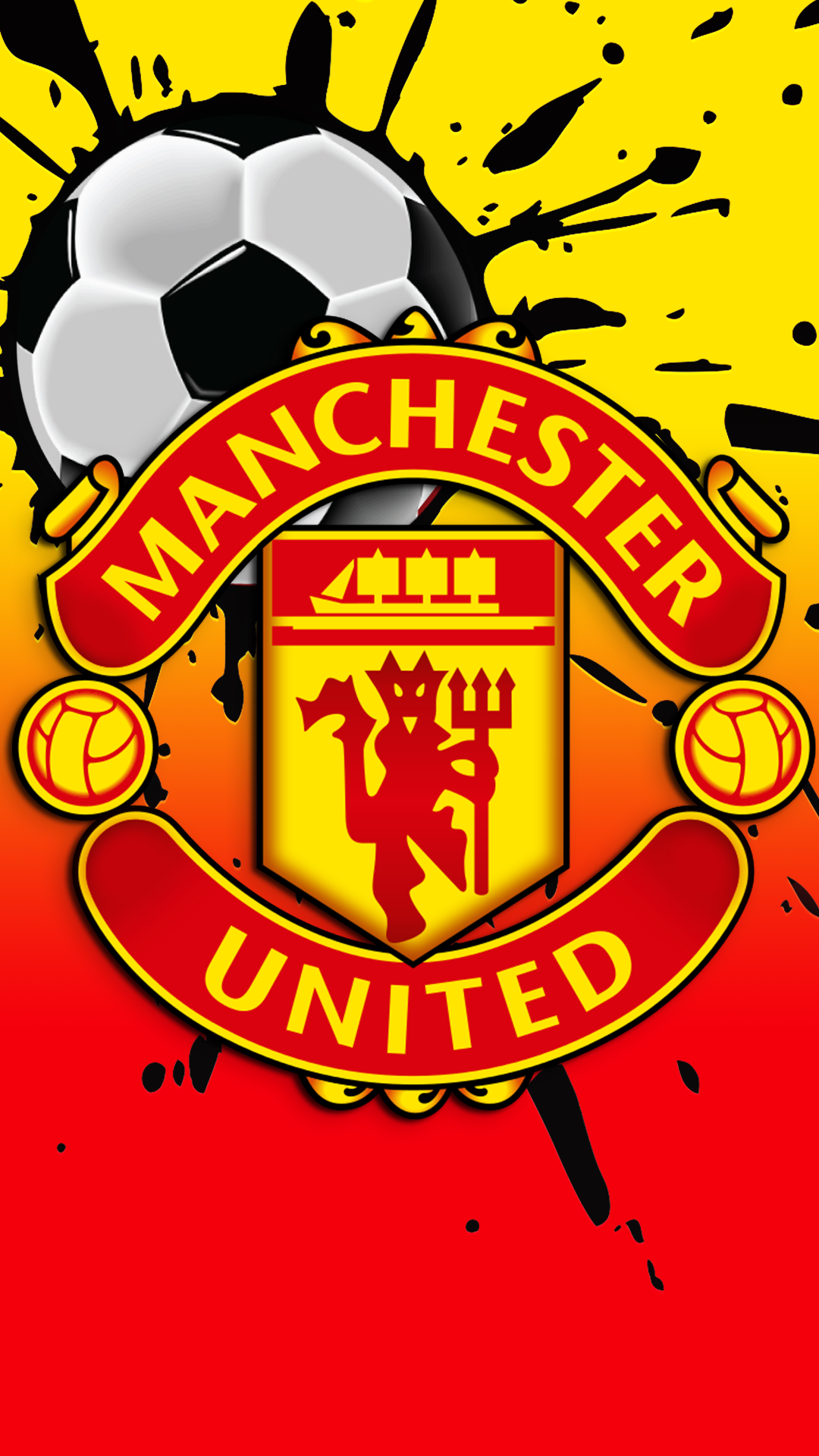 Free Hd Manchester United Fc Iphone Wallpaper For Download 0171