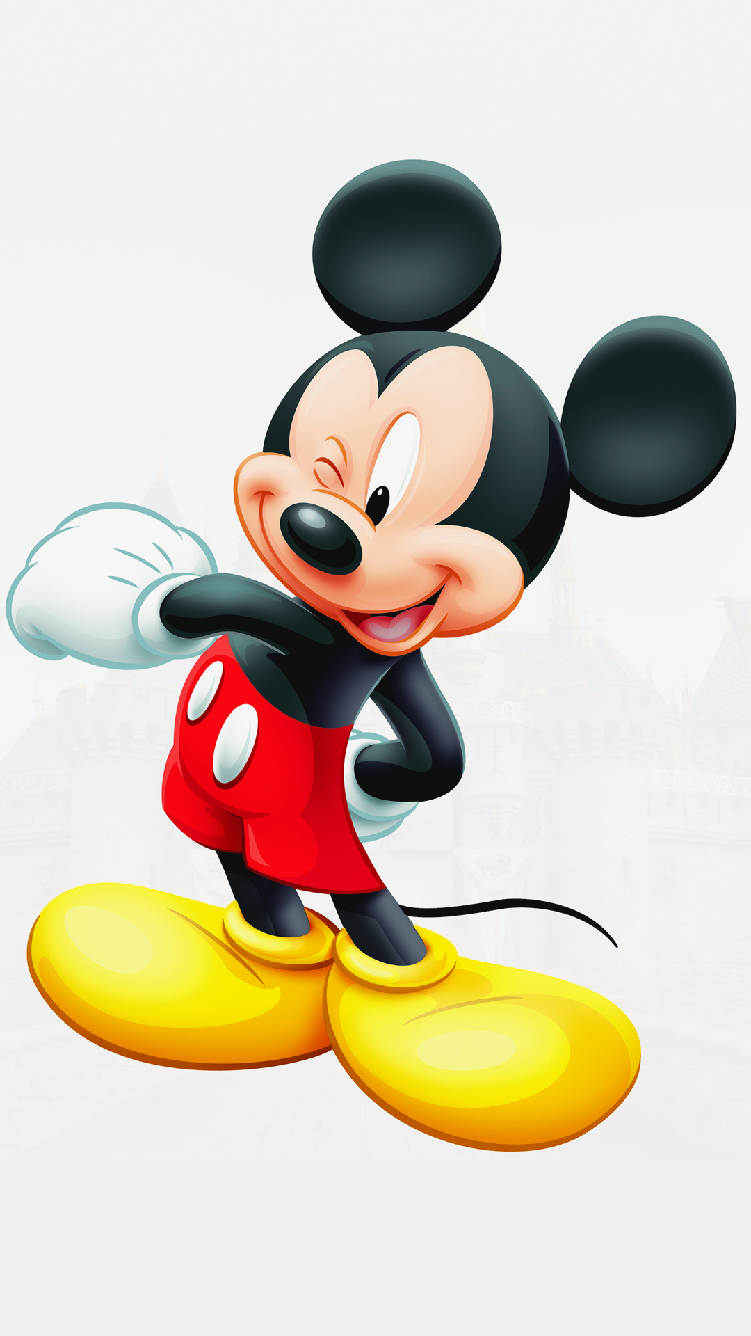 Free Hd Mickey Mouse Iphone Wallpaper For Download 0459