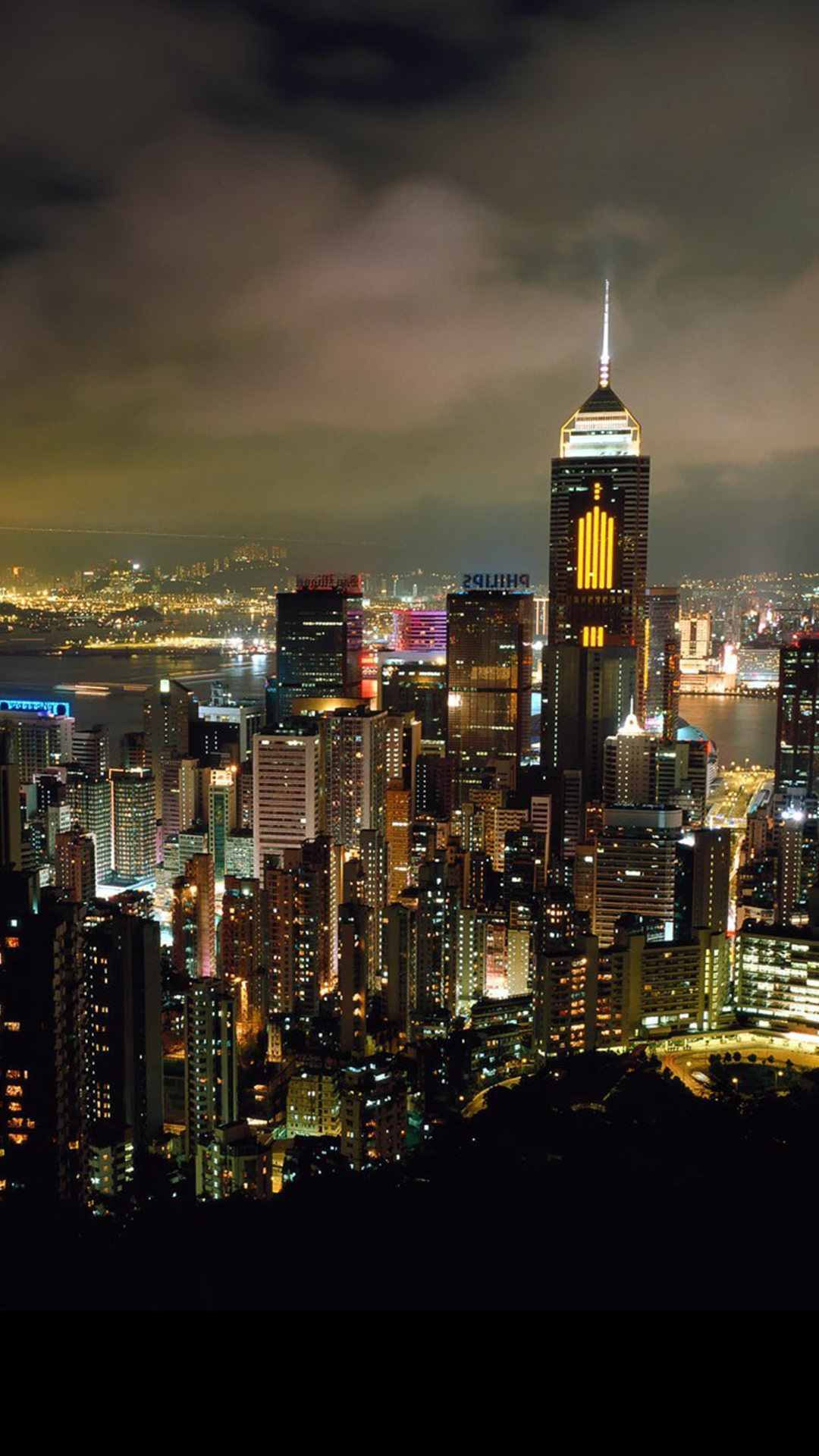 Ultra HD Night City Wallpaper For Your Mobile Phone ...0465