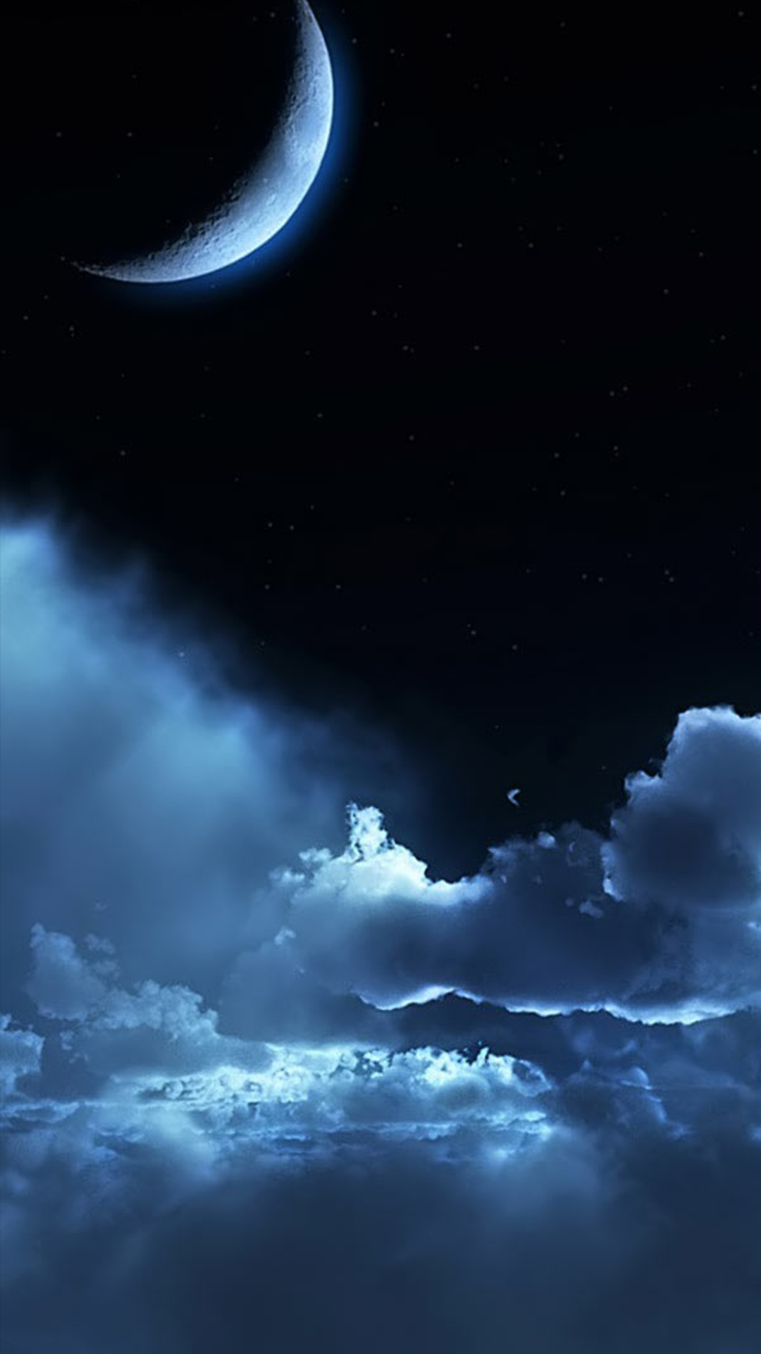 Ultra Hd Night Sky Wallpaper For Your Mobile Phone 0189