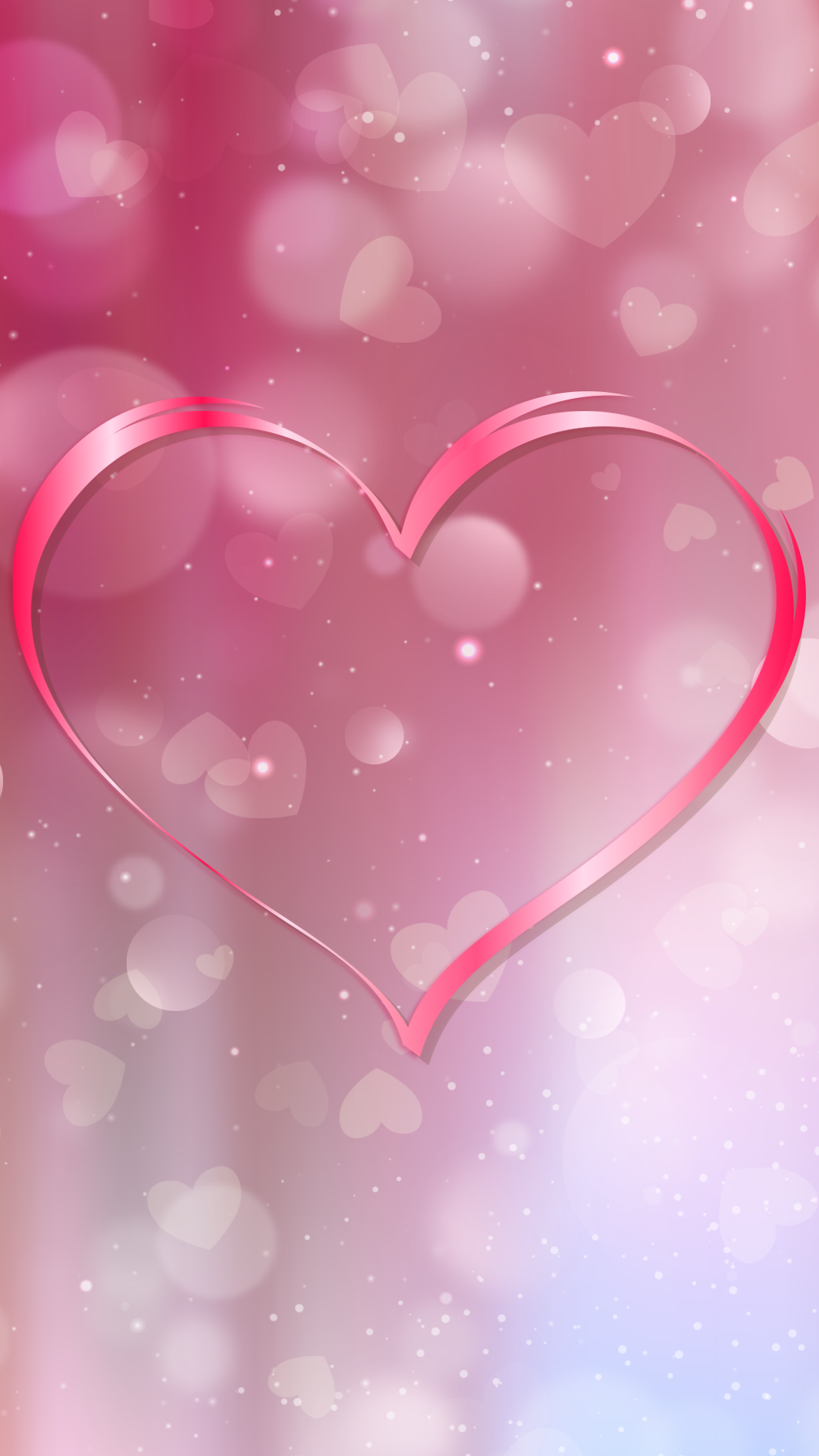 free hd perfect heart iphone wallpaper for download 0203