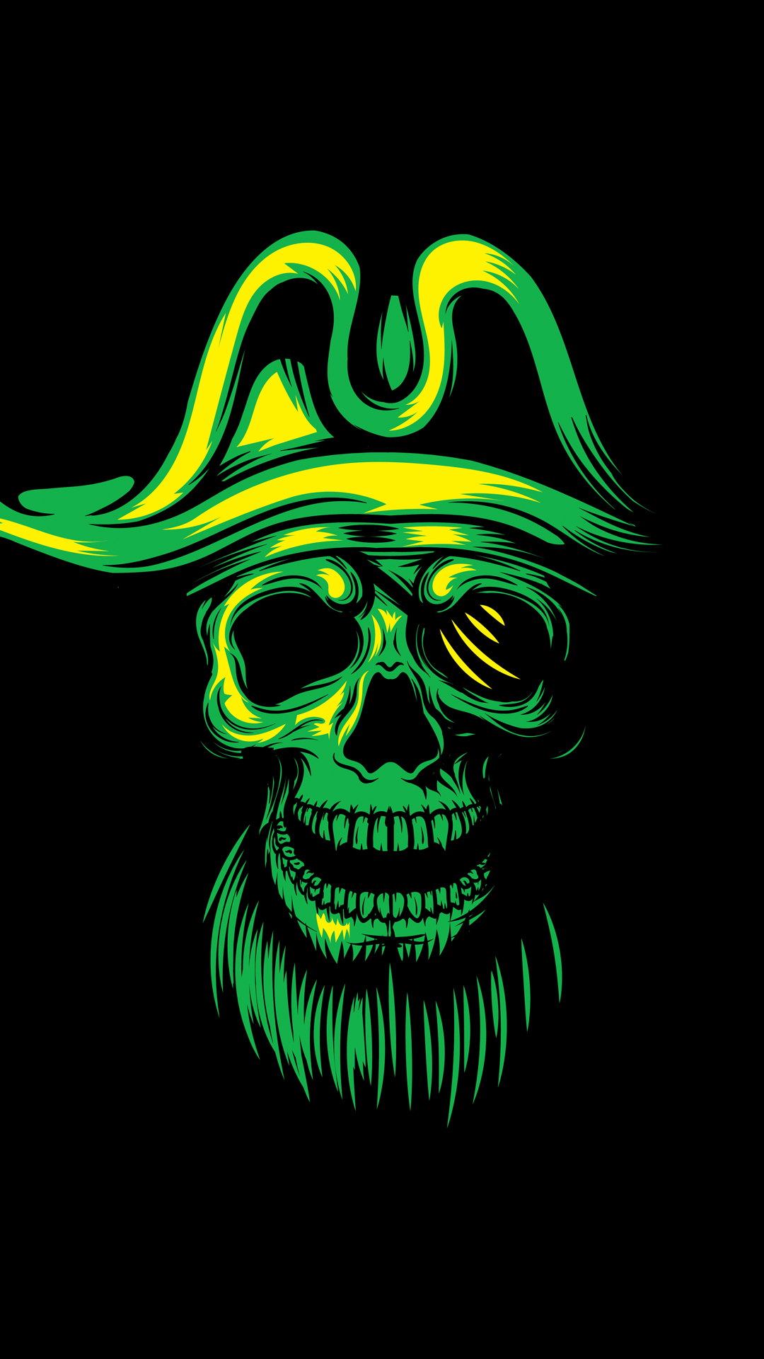 Pirate Skull 1080 X 1920 FHD Wallpaper