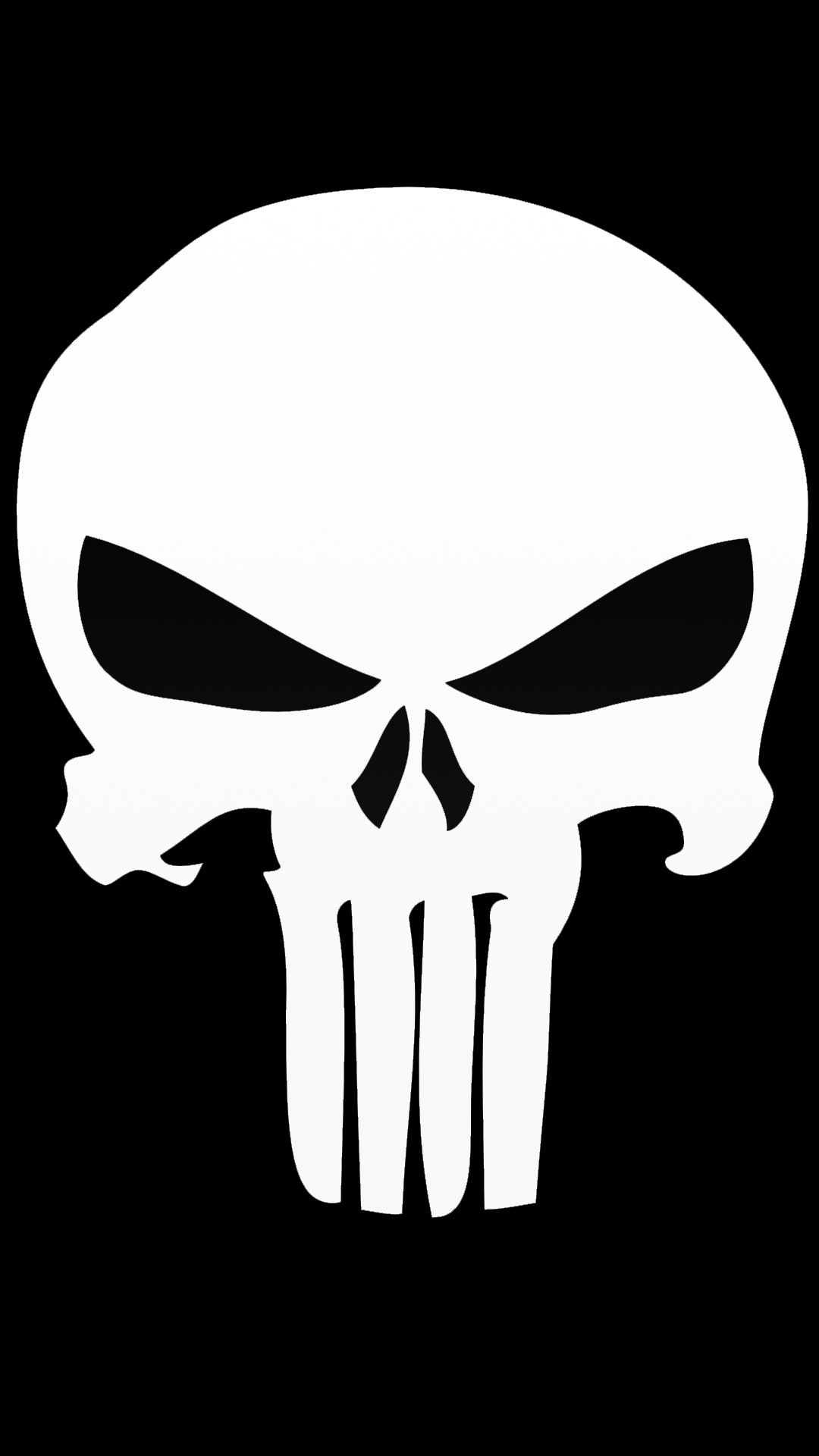 ultra hd punisher skull wallpaper for your mobile phone 0223