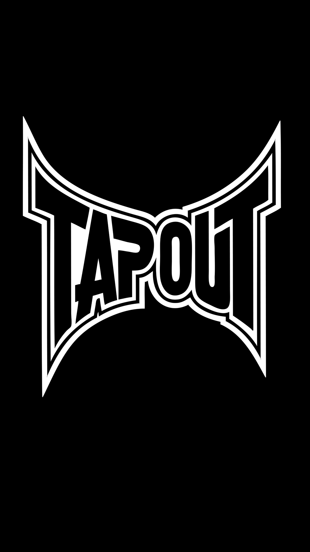 free hd tapout logo iphone wallpaper for download 0262