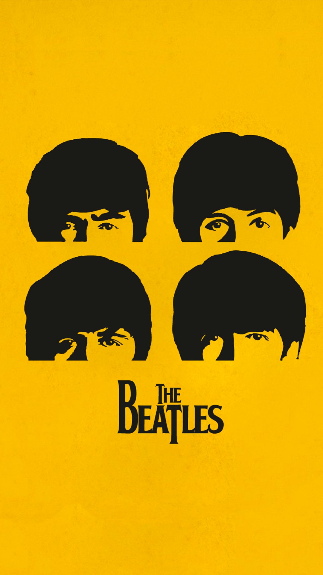 The Beatles 1080 X 1920 FHD Wallpaper