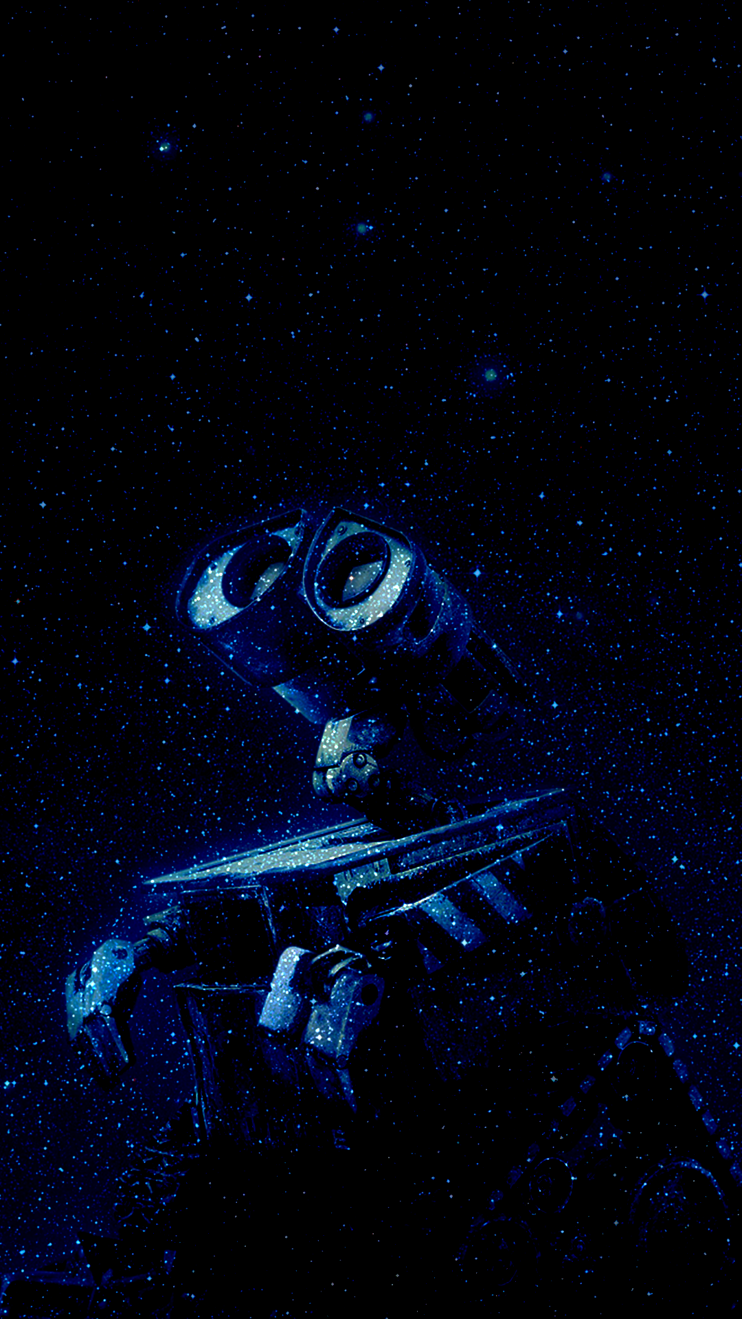 Wall E Space 1080 x 1920 FHD Wallpaper Wall E Space 1080 x 1920 FHD Wallpaper