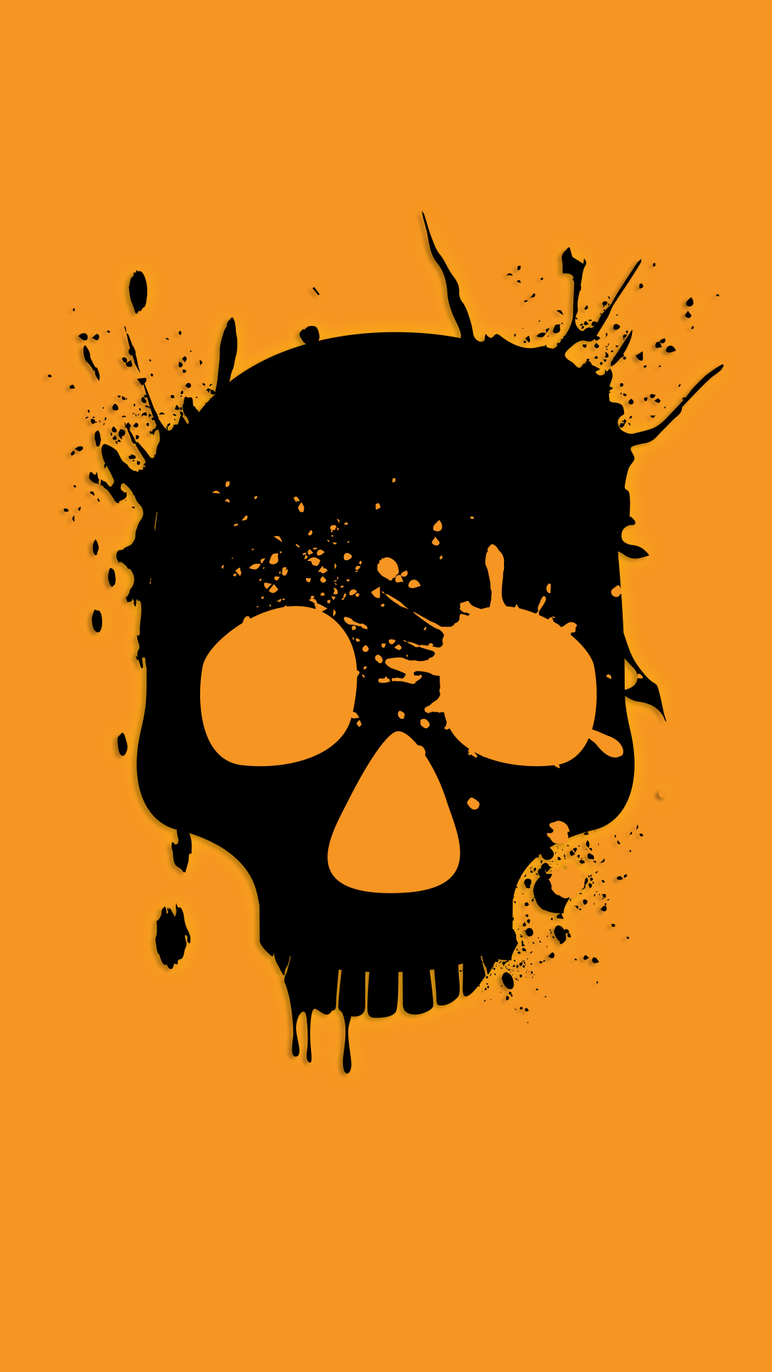 free hd wasted skull iphone wallpaper for download 0275
