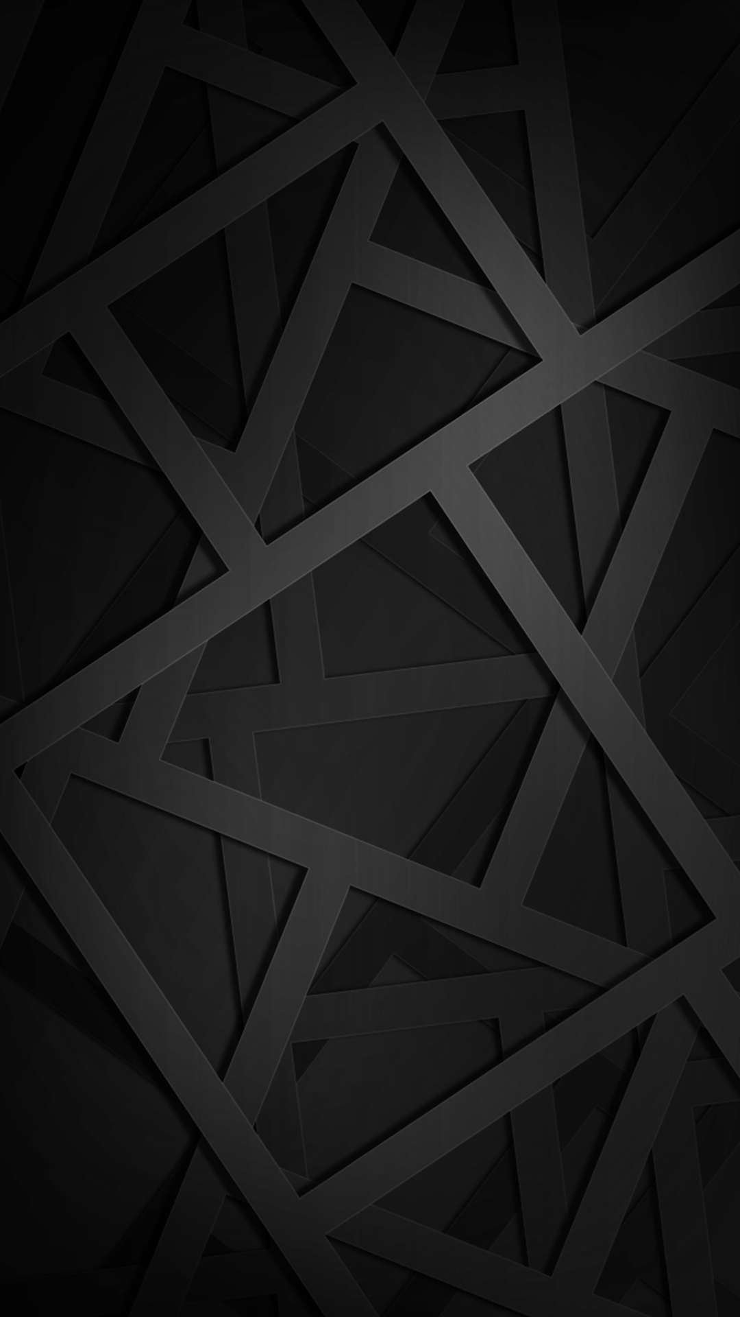 Ultra HD Geometric Black Wallpaper For Your Mobile Phone ...