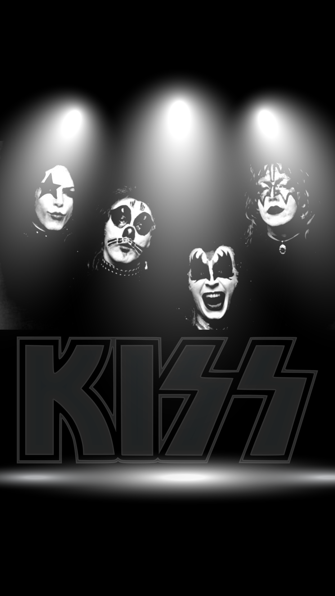 Kiss Band 1080 X 1920 FHD Wallpaper